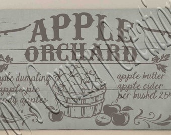 Apple Orchard  SVG, PNG, JPEG