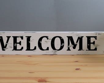 Welcome Farmhouse Sign, Fixer upper sign, farmhouse decor, Welcome Sign, Housewarming gift, Farm House, Wood Sign, Entrance Sign