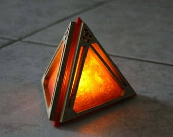 Star Wars inspired Sith Holocron. Night light. Lamp.