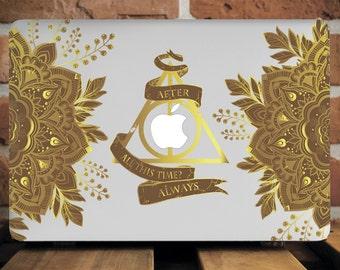 Deathly Hallows Laptop Case Macbook Case New MacBook Pro 13 Case MacBook 12 Case MacBook Pro Case 13 Inch Macbook Cover Macbook Air 11 Inch