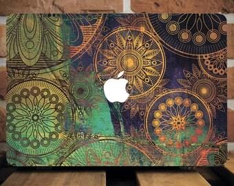 Cover for Macbook Macbook Pro Retina 15 Case Macbook Pro Retina 13 Case Mandala Case Pro Retina Cover Macbook 12 inch Case Macbook 15 WCm128