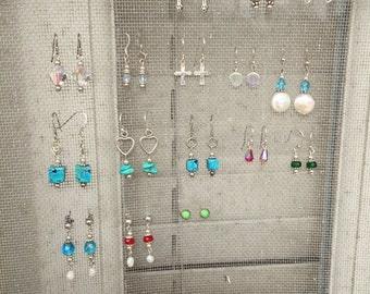 Silver Handmade Earrings {of your choosing!}