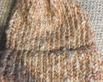 NEW ITEM! Handmade Golden Winter Hat