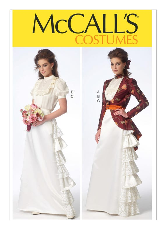 Sewing Pattern Misses Cosplay Costume, McCall\'s Pattern 7071 ...