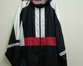 Rare Vintage CANTERBURY Of NEW ZEALAND Windbreaker Size 3L Made in Japan