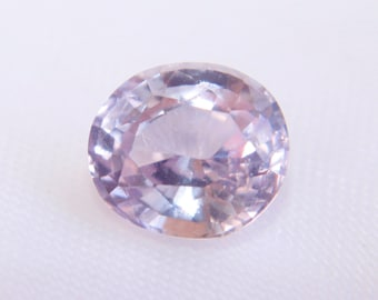 Natural Ceylon Pink Sapphire Oval Cut