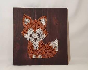 String Art- Fox