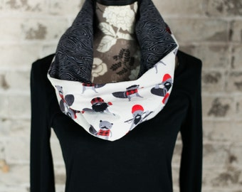 "The ""Lumberjack"" Reversible Cowl Neck"