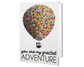 Up You are my Greatest Adventure Card - Funny Valentine's Day Card, Funny Anniversary Card, Valentine's Card, Funny Love Card, Funny Card