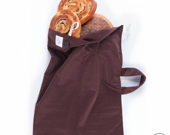 Bread bag reusable in PUL for conservation and transport of bread - keeps the bread up to 7 days! -zero waste - zero waste