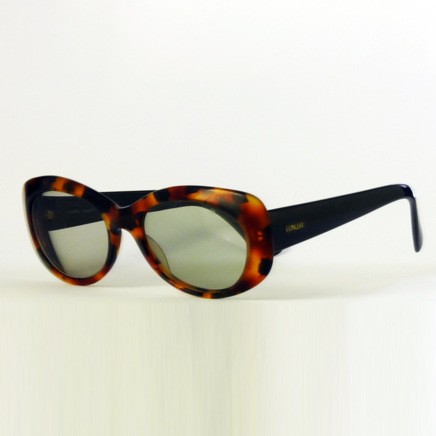 concert oval sunglasses womens sunglasses vintage sunglasses tortoise shell glasses 80s frame