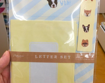 SALE!! dogs letter set, with stickers