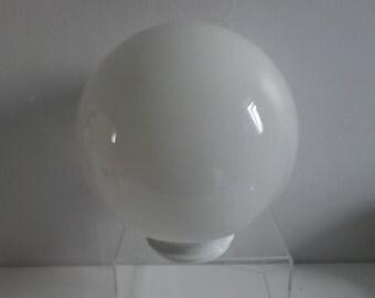 Vintage Milk Glass Round Globe shape Shade