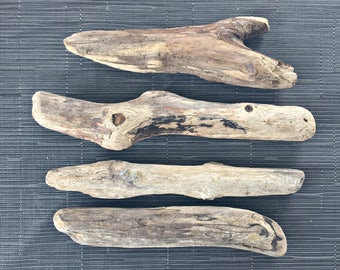 4 large branches of drift wood - wood seawood Driftwood branches