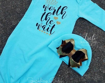 Baby Girl Hospital Going Home Outfit