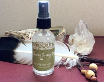 Energy Clearing Smudging Spray