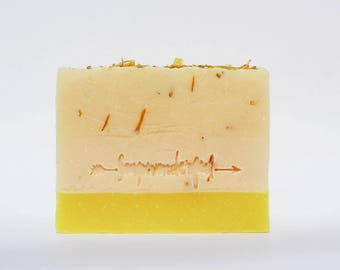 Hello Sunshine Coconut Cream Vegan Cold Process Soap