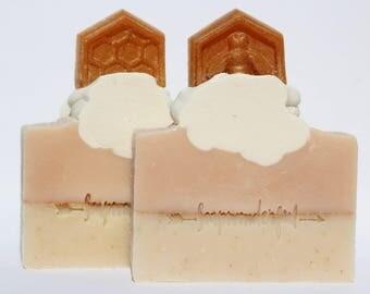 The Beekeeper Manuka Honey Oatmeal Cold Process Soap