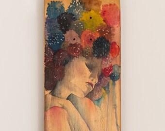 Flowers - collection Carmen Navarro illustration