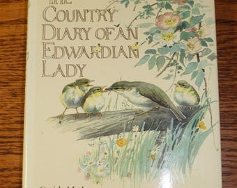 Country Diary of an Edwardian Lady Edith Holden Nature Journal Monthly Artwork and Poetry