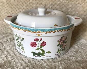 English rose kent pottery dish