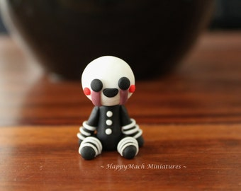 Five Nights At Freddy's: The Marionette - Polymer Clay
