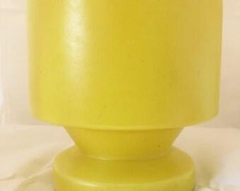 Vintage Haeger Vase- Primary Yellow