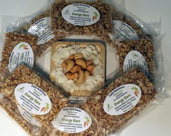 Daily Nutritious Gluten Free Coconut & Cashews Energy Bars