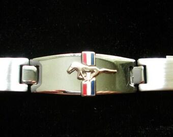 Ford Mustang Stainless Steel Bracelet