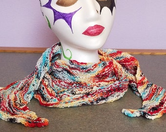 Light colorful scarf