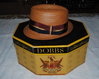 Vintage Dobbs Hat and Hat Box