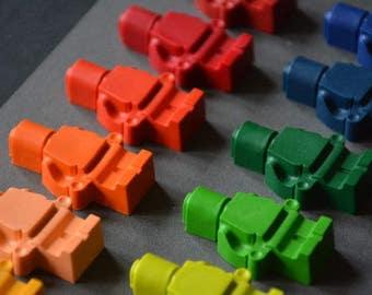 22 wax malkreiden | LEGO inspired