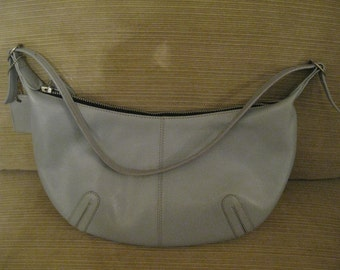 Latico Powder Blue Genuine Leather Hobo Handbag