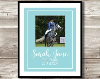 Equestrian Art, Equestrian Gift, Personalized Equestrian Photo Print, Equestrian Wall Art, Equestrian Team Gift, Digital Print