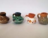 Ceramics handmade mini jug Miniature jug vase Pottery vase Ceramics decor Ornament vase Ceramic Pottery Handmade vase