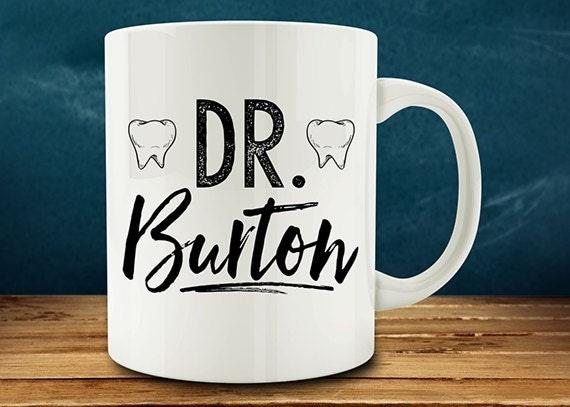 Personalized Custom Dentist Mug personalized dentist with