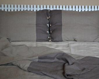 Natural Linen duvet cover, 3ps,  linen bedding set, queen duvet cover, king duvet, bedding, bed, duvet cover, natural bedding, linen bedding