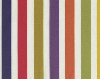 "Dear Stella Designs       ""Stripes""    100% Cotton   Remnant"