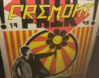 Fremont fair poster 27th annual