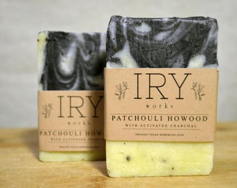 Patchouli - Ho Wood - Activated Charcoal Organic Soap