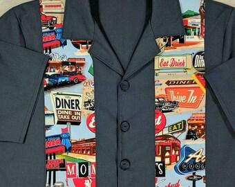Retro Bowling Shirt, Vintage Look Bowling Shirt