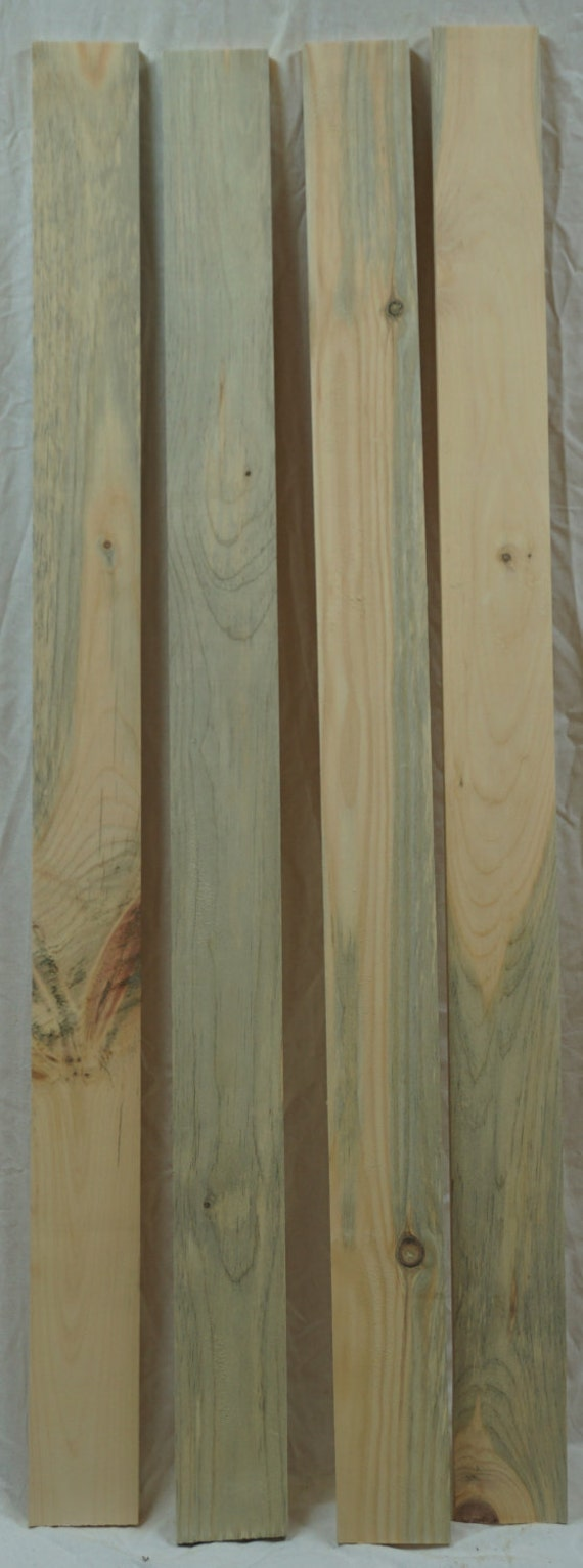 Items similar to blue stain pine lumber arts crafts