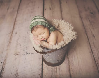 Ace Newborn Bonnet, Photography prop