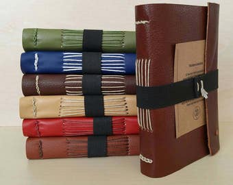 Handmade Travel Journal (FOX BROWN)