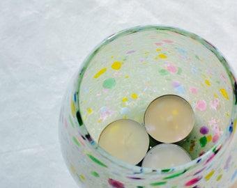 WHITE candleholder