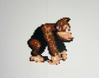 Donkey Kong Perler Bead