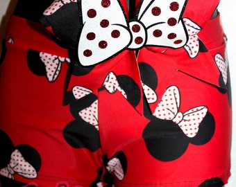 Ultimate Minnie Mouse - Wacki Bow Set - Awesome Minnie shorts and matching bow!