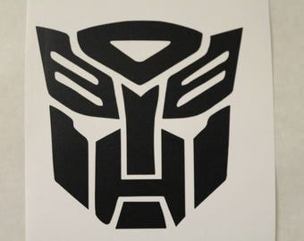 Autobots Transofrmers Decal Any Size Any Colors
