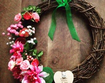 "Memory Wreath 12"""