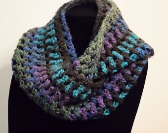 Crocheted Infinity Scarves